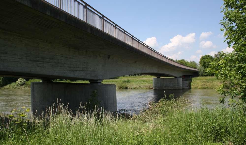 Forellenhotspot Brückenpfeiler